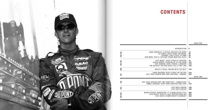 Ricky Hendrick - Table of Contents