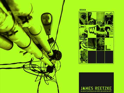 James Reetzke Senior Portfolio Site
